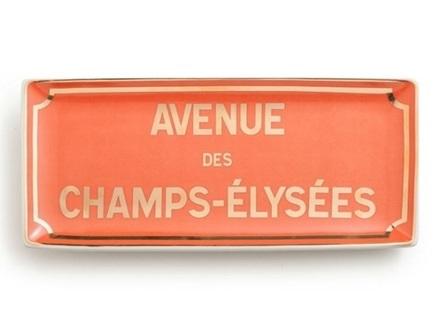 "Декоративный поднос ""Champs-elysees"""