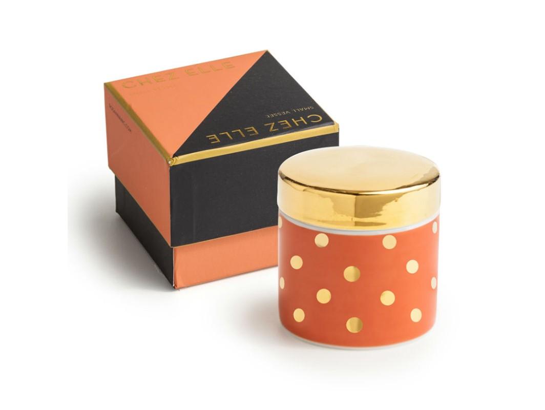 Декоративный контейнер с крышкой (маленький)