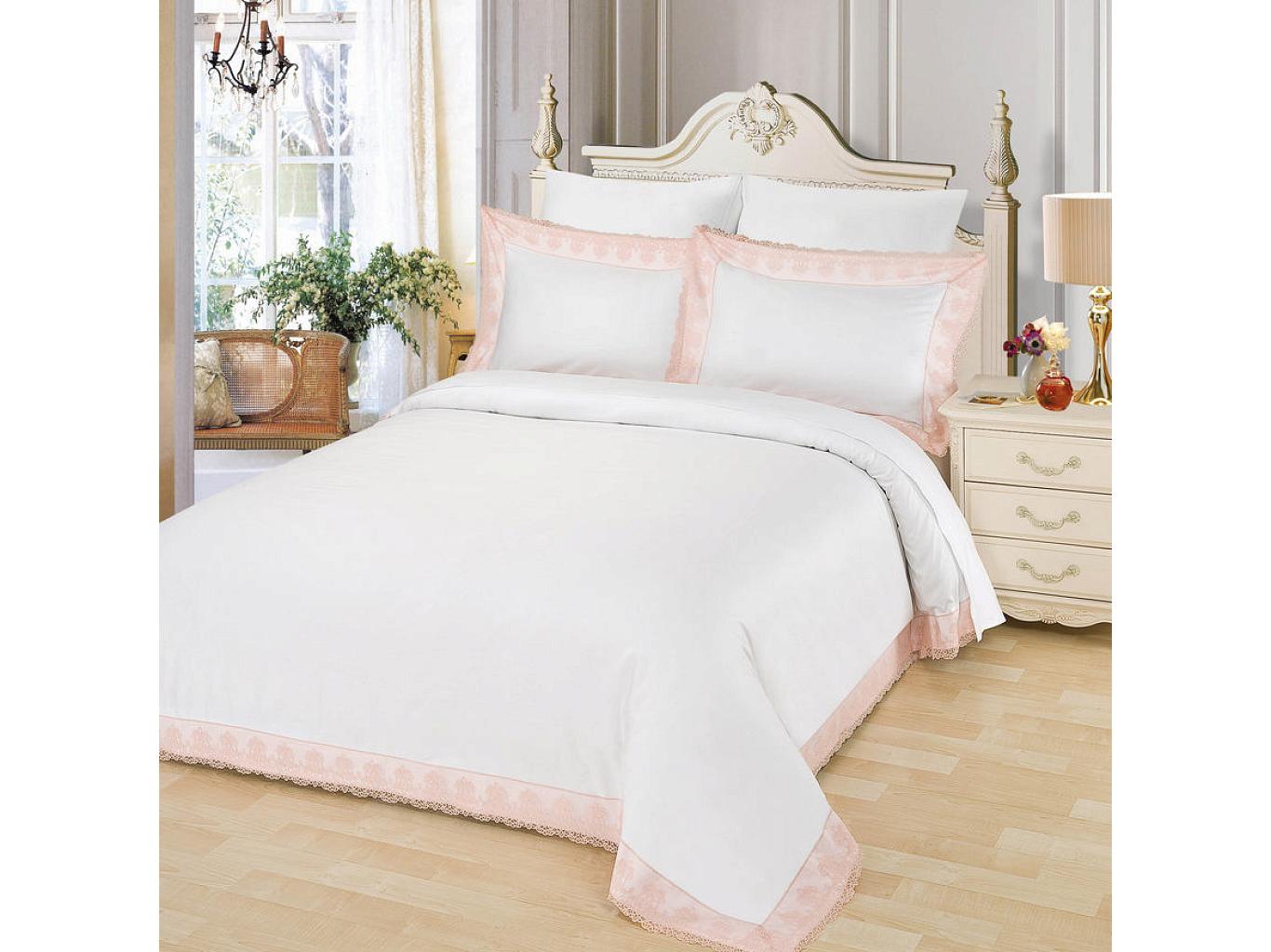 Комплект постельного белья ЖозефинаДвуспальные комплекты постельного белья<br>&amp;lt;div&amp;gt;Великолепный белоснежный комплект из хлопка станет настоящим украшением для Вашей спальни. Наволочки с &amp;quot;ушками&amp;quot; и изысканным кружевом нежных оттенков по периметру смотрятся необыкновенно утонченно. Хлопковая нить сплетается определенным способом, он позволяет получить высокую плотность ткани, не теряя при этом мягкости.&amp;amp;nbsp;&amp;lt;/div&amp;gt;&amp;lt;div&amp;gt;&amp;lt;br&amp;gt;&amp;lt;/div&amp;gt;&amp;lt;div&amp;gt;Комплектация:&amp;amp;nbsp;&amp;lt;/div&amp;gt;&amp;lt;div&amp;gt;Пододеяльник: 200х220 см (1)&amp;lt;/div&amp;gt;&amp;lt;div&amp;gt;Простынь: 230х250 см (1)&amp;lt;/div&amp;gt;&amp;lt;div&amp;gt;Наволочки: 50х70 см (2)&amp;lt;/div&amp;gt;&amp;lt;div&amp;gt;Наволочки: 70х70 см (2)&amp;amp;nbsp;&amp;lt;/div&amp;gt;&amp;lt;div&amp;gt;Состав: 100%хлопок&amp;lt;/div&amp;gt;<br><br>Material: Хлопок<br>Ширина см: 230.0<br>Глубина см: 250.0