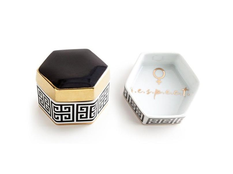 Декоративная коробочка с крышкой