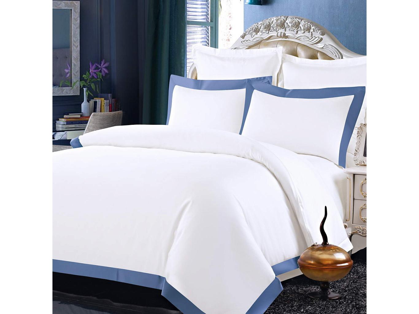 Комплект постельного белья МортеллоПолутороспальные комлпекты постельного белья<br>&amp;lt;div&amp;gt;Великолепный белоснежный комплект из хлопка станет настоящим украшением для Вашей спальни. Наволочки с декоративными &amp;quot;ушками&amp;quot; пастельных цветов смотрятся необыкновенно стильно. Хлопковая нить сплетается определенным способом, это позволяет получить высокую плотность ткани, не теряя при этом мягкости.&amp;amp;nbsp;&amp;lt;/div&amp;gt;&amp;lt;div&amp;gt;&amp;lt;br&amp;gt;&amp;lt;/div&amp;gt;&amp;lt;div&amp;gt;Комплектация:&amp;amp;nbsp;&amp;lt;/div&amp;gt;&amp;lt;div&amp;gt;Пододеяльник: 160х220 см(1 шт.);&amp;amp;nbsp;&amp;lt;/div&amp;gt;&amp;lt;div&amp;gt;Простыня: 160х230 см(1 шт.);&amp;amp;nbsp;&amp;lt;/div&amp;gt;&amp;lt;div&amp;gt;Наволочки: 50х70 см(2 шт.)&amp;amp;nbsp;&amp;lt;/div&amp;gt;&amp;lt;div&amp;gt;Состав: 100% хлопок&amp;lt;/div&amp;gt;<br><br>Material: Хлопок<br>Ширина см: 160.0<br>Глубина см: 230.0