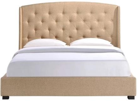Кровать lexlux (ml) бежевый 183.0x137.0x212.0 см.