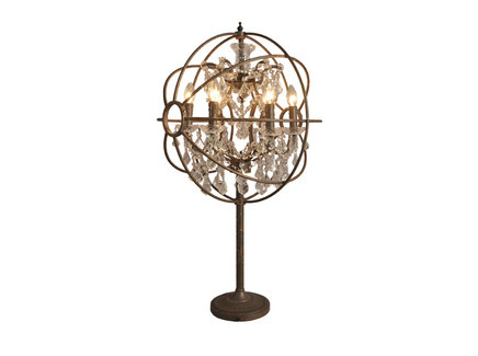 IRON ORB TABLE LAMP Gramercy