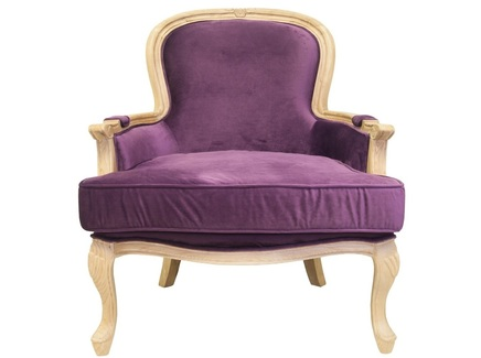 Кресло diesta (mak-interior) фиолетовый 81x114x76 см.