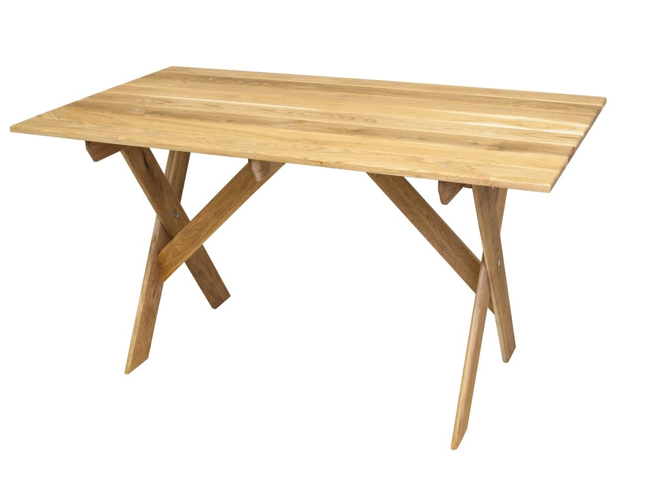 СтолОбеденные столы<br>Стол производится из массива дуба. Проходит термическую обработку и пропитку в экологически чистом масле с содержанием 30% парафина, применяемого в косметической отрасли. Эта технология не дает возможности проникать в древесину атмосферной влаге или прямого попадания воды(дождя). Мебель имеет натуральный цвет с хорошо выраженной структурой. Дополнительно не покрывается никакими красителями или пропитками.&amp;amp;nbsp;<br><br>Material: Дуб<br>Ширина см: 200<br>Высота см: 78<br>Глубина см: 80