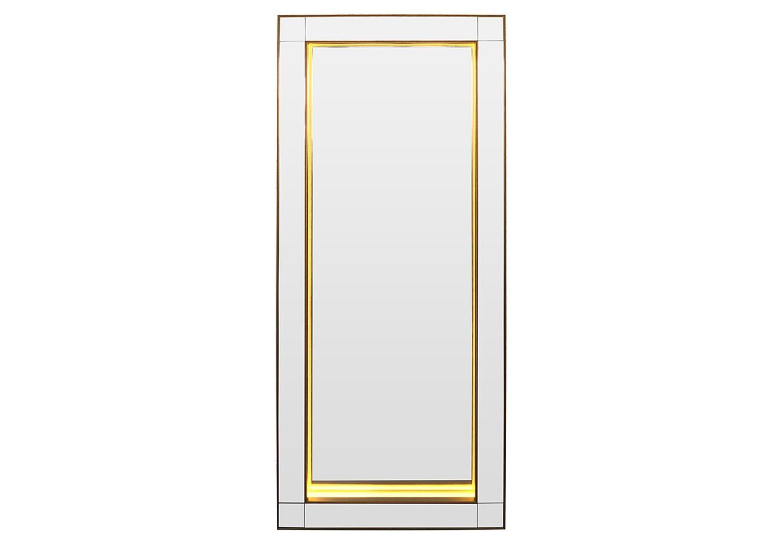 Зеркало с подсветкой Grand IrresistibilityНапольные зеркала<br>Коллекции BountyHome – это дизайнерские зеркала, зеркальная мебель и предметы интерьера за доступные деньги. Все изделия от и до мы создаем сами в нашей мастерской. Каждое – это уникальное произведение, арт-объект со своей историей и мелодией. Мы следим за современными трендами, лично отбираем лучшие материалы и каждый день трудимся над созданием новых шедевров, которые будут радовать вас. Если вы ищете что-то действительно качественное, стоящее и эксклюзивное, что сделано с душой и руками человека, B-Home придется вам по вкусу!Подсветка: LED.<br><br>kit: None<br>gender: None