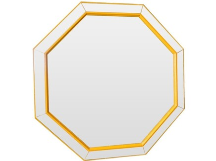 "Зеркало ""Yellow Octagon"""