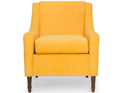 Интерьерное кресло holmes (myfurnish) желтый 66x84x77 см.