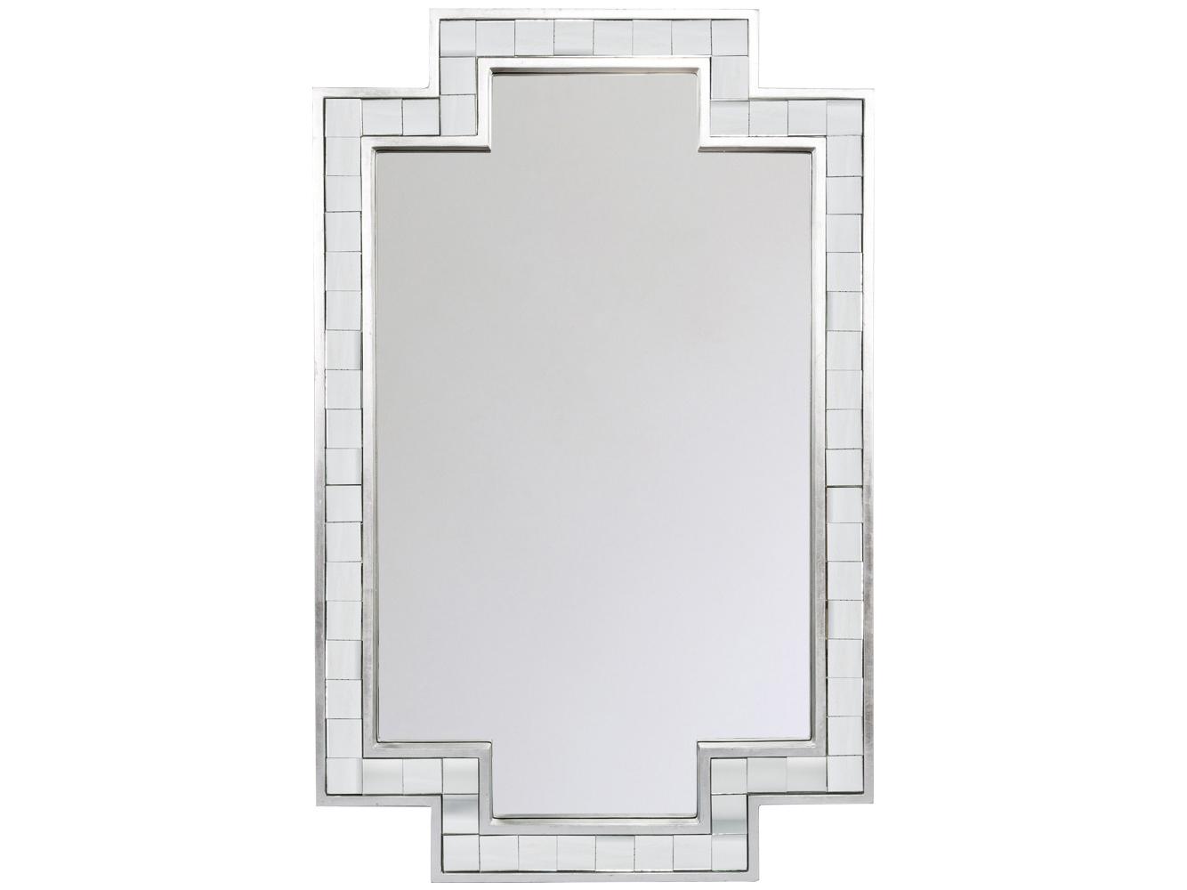 Настенное зеркало «Гаспер»Настенные зеркала<br>Зеркало &amp;quot;Гаспер&amp;quot; - это дизайнерский синтез классики и авангарда. Прямолинейная зеркальная рама адресована современным интерьерам &amp;quot;хай-тек&amp;quot; и &amp;quot;постмодерн&amp;quot;, в то время как квадратная кладка рамы ссылается на кельтскую и греческую классику. Зеркало покрыто серебряной амальгамой, обладает идеально ровной поверхностью, не боится влаги.&amp;amp;nbsp;&amp;lt;span style=&amp;quot;font-size: 14px;&amp;quot;&amp;gt;Толщина зеркального полотна составляет 4 мм.&amp;lt;/span&amp;gt;<br><br>Material: МДФ<br>Ширина см: 73.5<br>Высота см: 114.0<br>Глубина см: 3.5