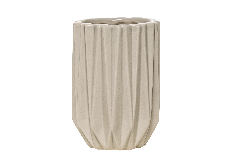 Стаканчик для ванных принадлежностей GeometricАксессуары для ванной<br><br><br>Material: Керамика<br>Высота см: 11.0
