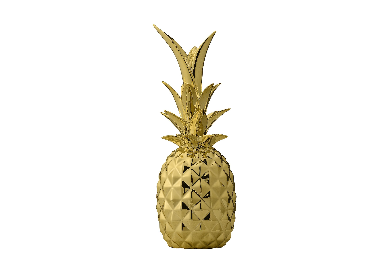 Декоративный ананас GoldДругое<br><br><br>Material: Керамика<br>Высота см: 24.0