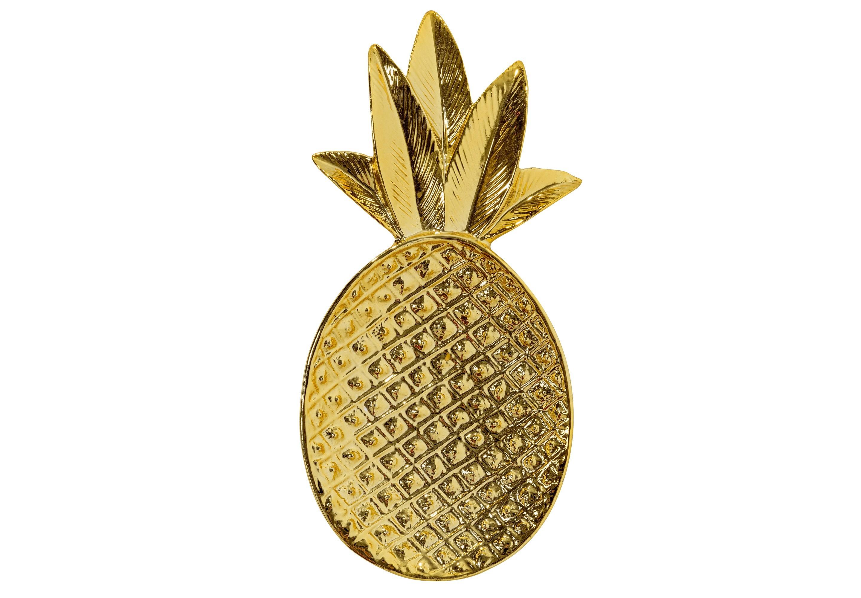 Декоративный поднос в форме ананаса (G)