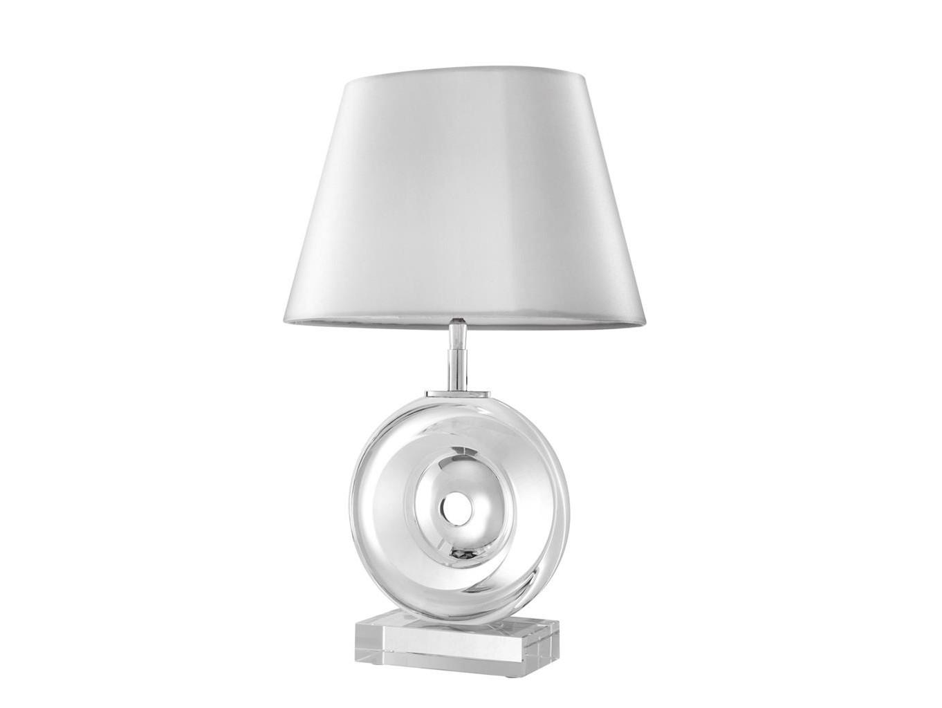 Настольная лампа RemyДекоративные лампы<br>Текстильный абажур белого цвета скрывает лампу.&amp;amp;nbsp;<br><br>Material: Стекло<br>Ширина см: 32<br>Высота см: 50.0<br>Глубина см: 32