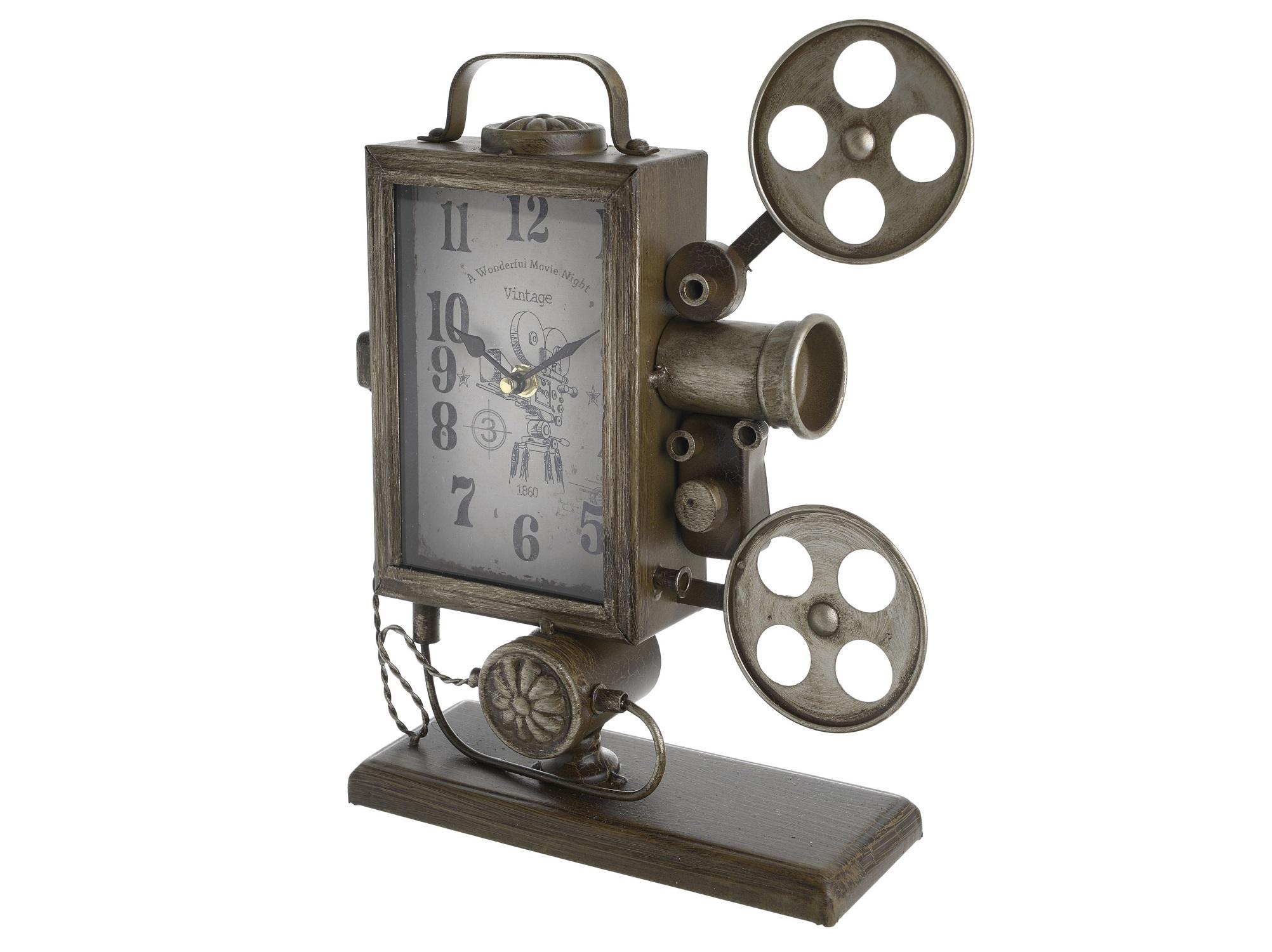 Часы настольные VitorНастольные часы<br>Кварцевый механизм<br><br>Material: Металл<br>Ширина см: 26.0<br>Высота см: 33.5<br>Глубина см: 9.0