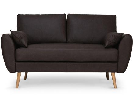 Диван vogue (myfurnish) коричневый 151x88x91 см.