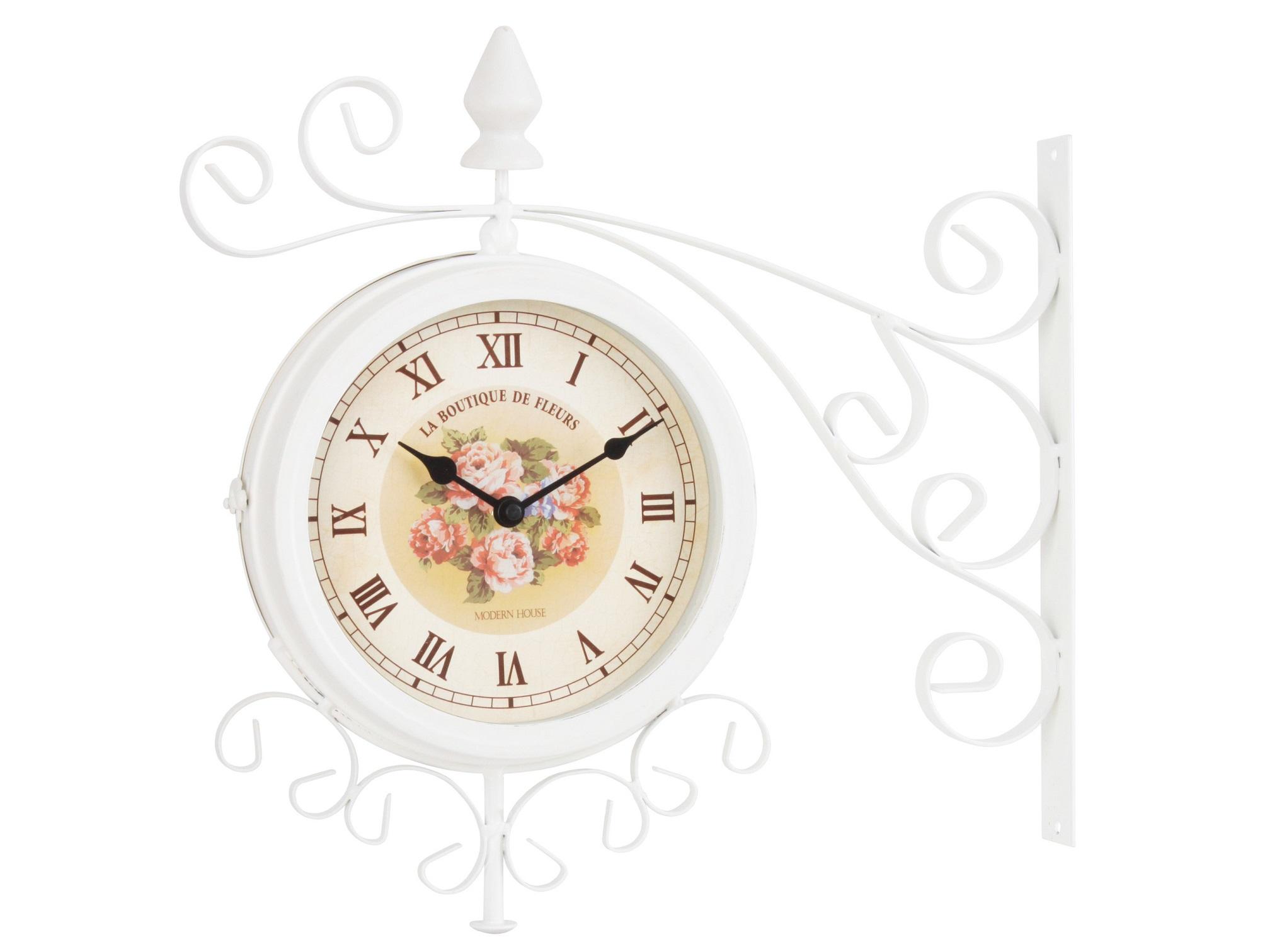 Настенные часы MelissaНастенные часы<br>Кварцевый механизм<br><br>Material: Металл<br>Ширина см: 40.0<br>Высота см: 38.0<br>Глубина см: 8.5
