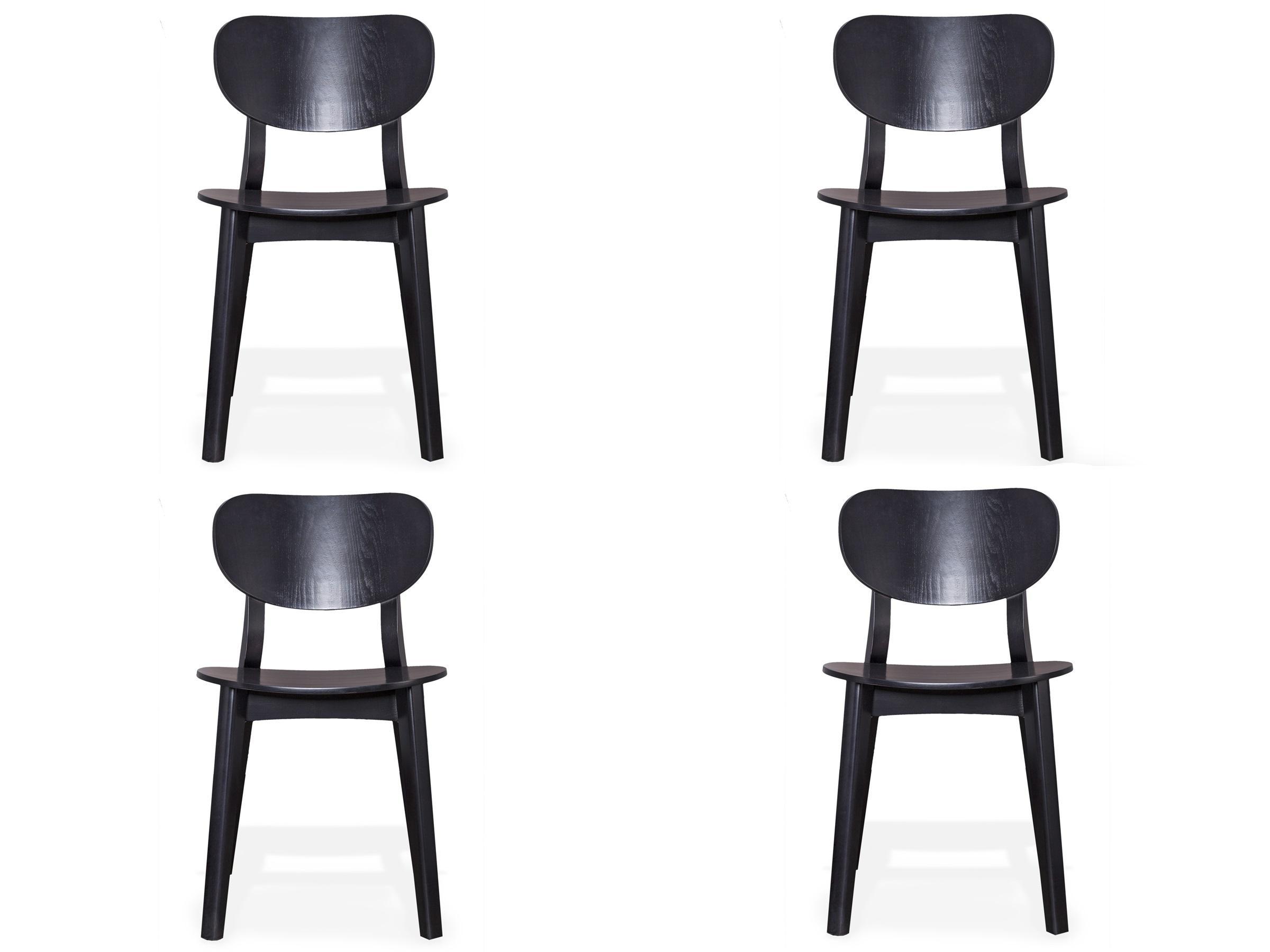 Комплект из 4 стульев XavierКомплекты<br>Этот стул подкупает своей универсальностью! Он будет идеально смотреться как дополнение к обеденному столу, так и станет акцентом для вашей творческой студии. Само воплощение скандинавской классики.Высота сидения: 45 см.<br><br>kit: None<br>gender: None