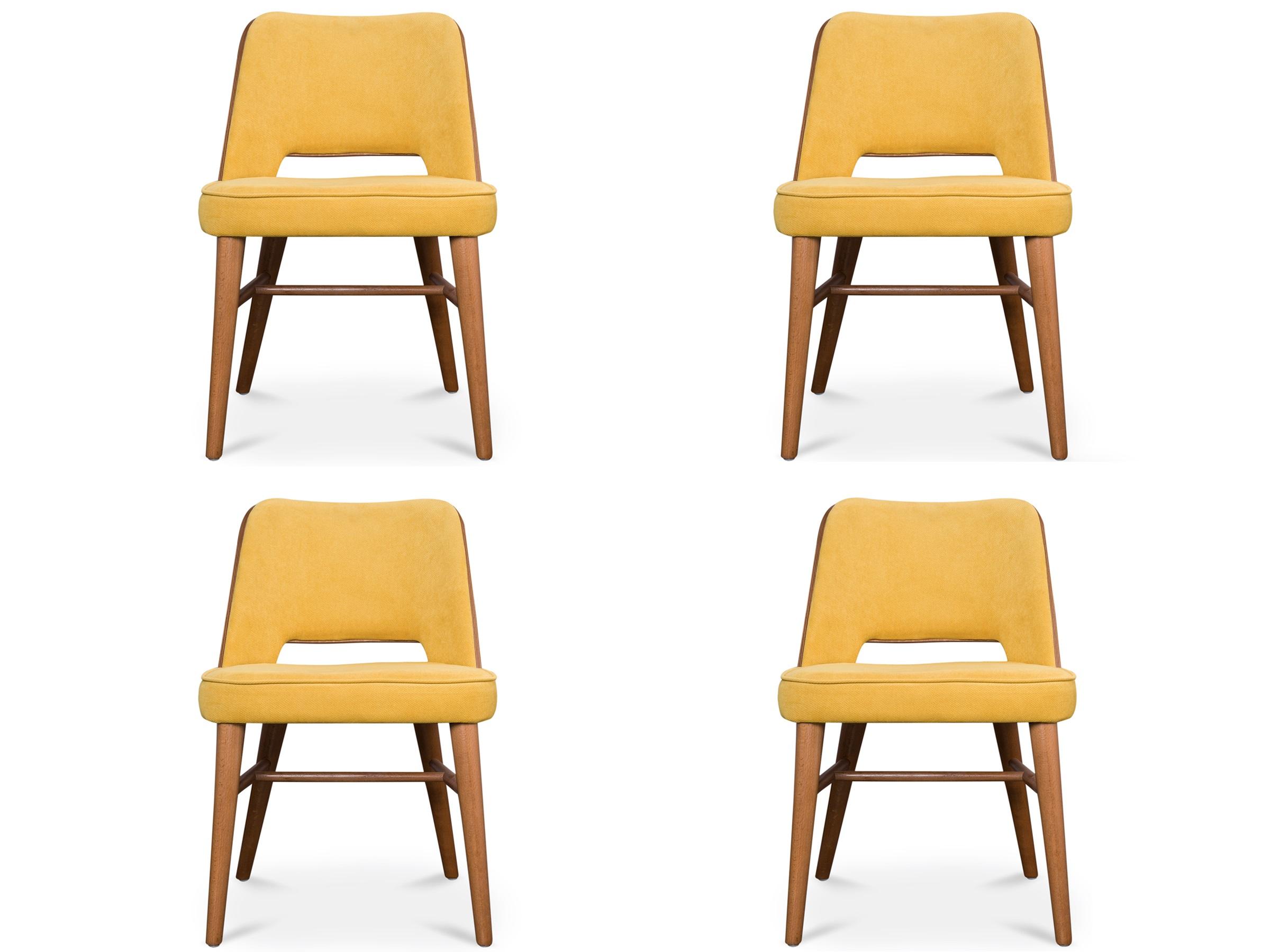 Комплект из 4 стульев AkselКомплекты<br>Aksel взял лучшее из двух миров: крепкие материалы и выразительный дизайн в стиле &amp;quot;hygge&amp;quot;.&amp;lt;div&amp;gt;Гладкий проем между мягким сидением и усиленной спинкой добавляет необходимый штрих традиционной форме, &amp;amp;nbsp;а выносливая обивка и ореховый каркас сослужат вам хорошую службу,&amp;lt;div&amp;gt;&amp;lt;div&amp;gt;&amp;lt;br&amp;gt;&amp;lt;div&amp;gt;Высота сидения: 48 см.&amp;lt;/div&amp;gt;&amp;lt;/div&amp;gt;&amp;lt;/div&amp;gt;&amp;lt;/div&amp;gt;<br><br>Material: Текстиль<br>Ширина см: 46<br>Высота см: 82<br>Глубина см: 50