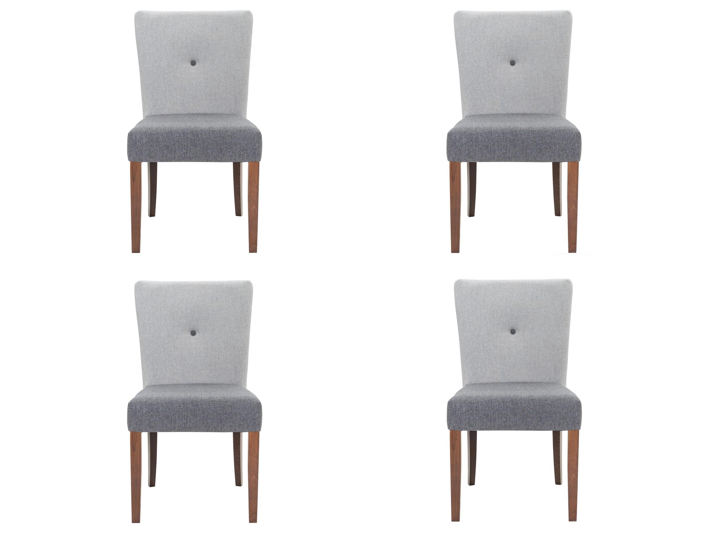 Комплект из 4 стульев ButtonКомплекты<br>&amp;lt;div&amp;gt;&amp;lt;span style=&amp;quot;font-size: 14px;&amp;quot;&amp;gt;Стул &amp;quot;Button&amp;quot; - образец скандинавского минимализма и трепетного отношения к экологичным материалам. С ним вы сможете сформировать совершенно новый образ вашего интерьера или одним элегантным штрихом дополнить уже имеющийся.&amp;lt;/span&amp;gt;&amp;lt;br&amp;gt;&amp;lt;/div&amp;gt;&amp;lt;div&amp;gt;&amp;lt;br&amp;gt;&amp;lt;/div&amp;gt;Высота сиденья: 49 см.&amp;lt;div&amp;gt;Ножки: орех.&amp;lt;br&amp;gt;&amp;lt;/div&amp;gt;<br><br>Material: Текстиль<br>Ширина см: 49<br>Высота см: 87<br>Глубина см: 54