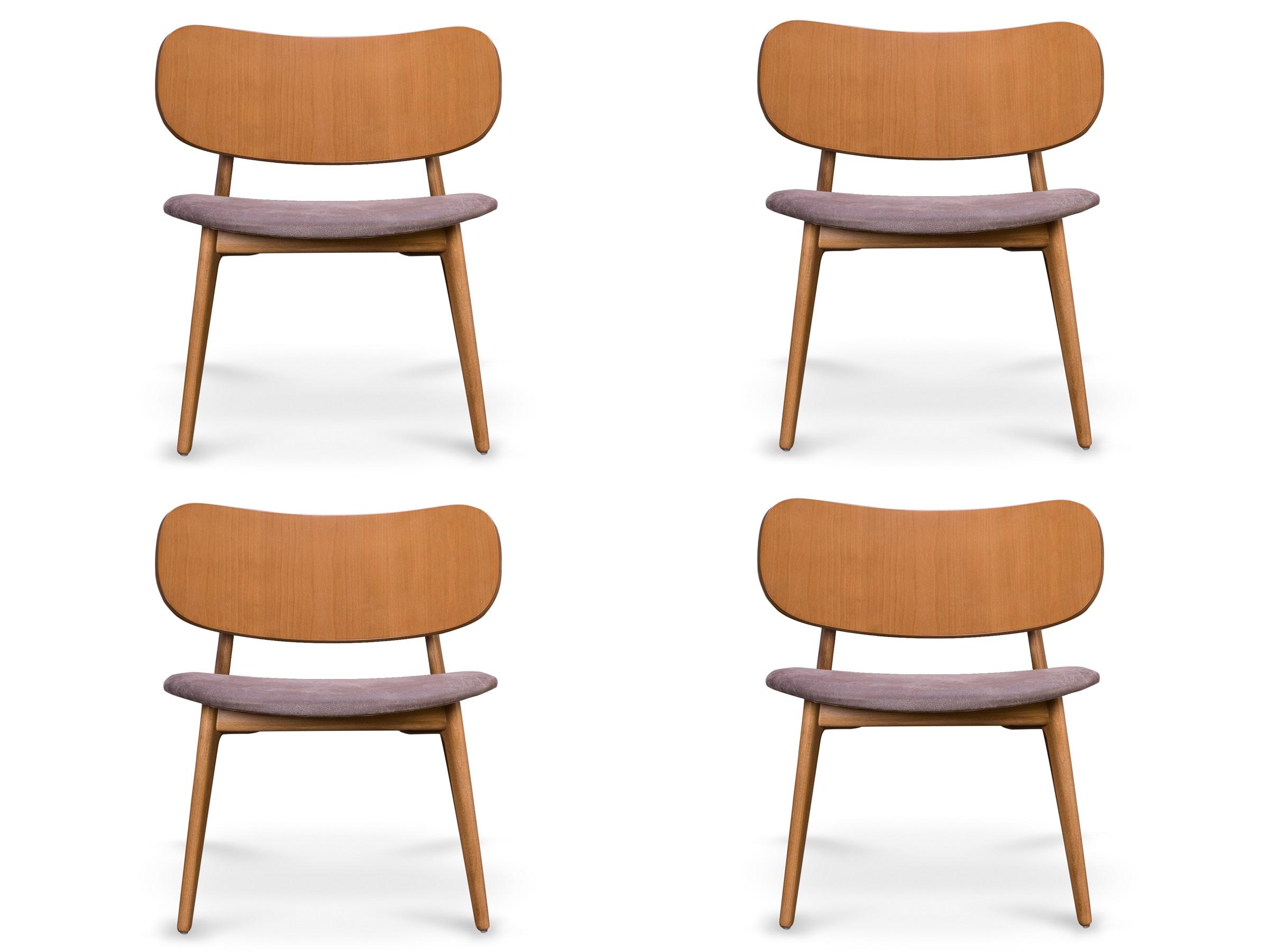 Купить Комплект из 4 стульев Xavier Lounge , MyFurnish