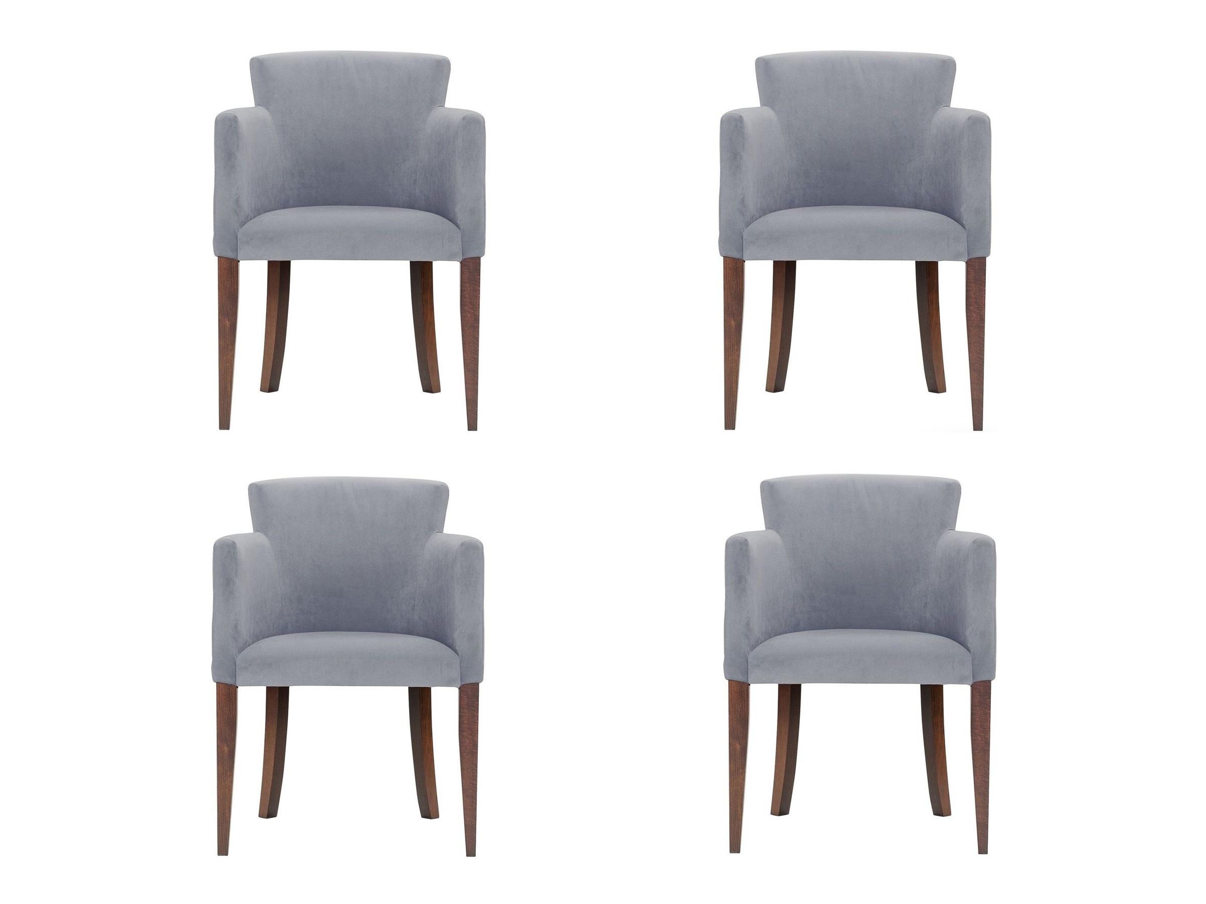 Комплект из 4 стульев AronКомплекты<br>Универсальное кресло из экологичных материалов, которое подойдет для обстановки современных или классических интерьеров.Высота до сидения: 46 см.<br><br>kit: None<br>gender: None