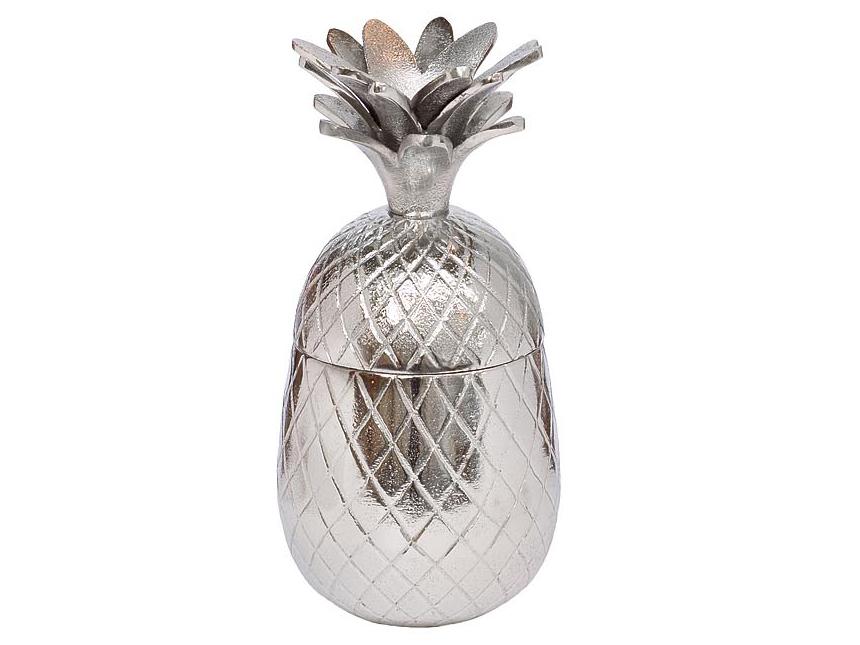 Шкатулка АнанасШкатулки<br>Материал: алюминий, никель<br><br>Material: Алюминий