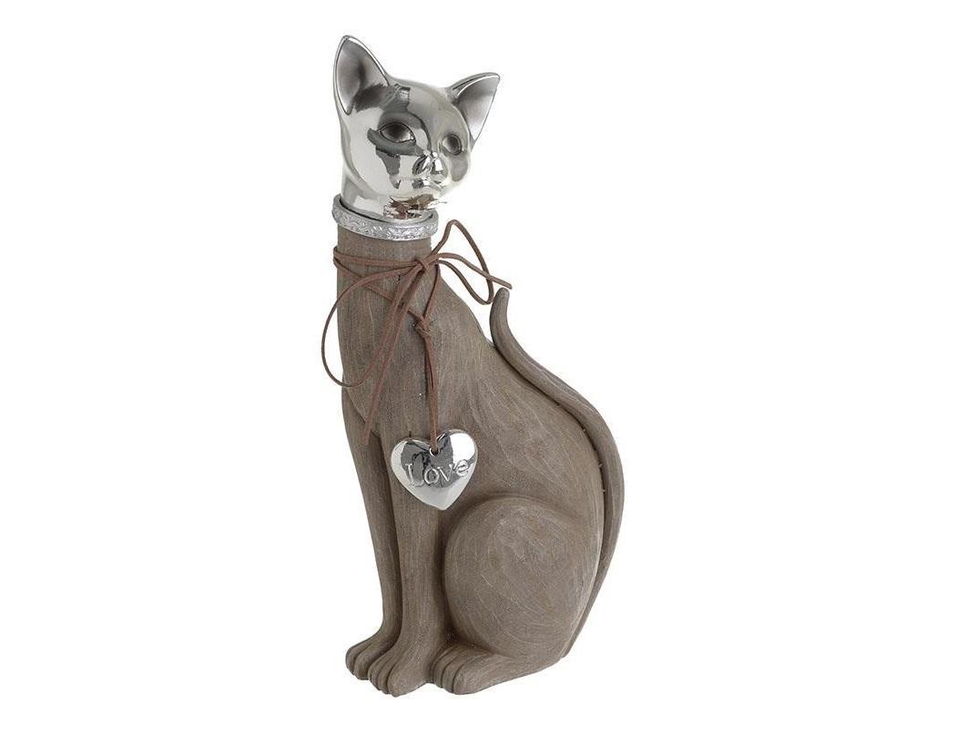 Статуэтка кошка KyleСтатуэтки<br><br><br>Material: Полистоун<br>Ширина см: 14.0<br>Высота см: 31.5<br>Глубина см: 9.0