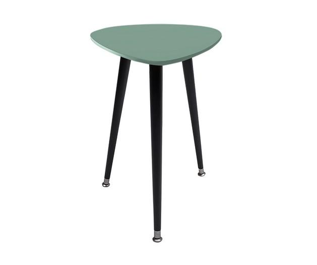 Приставной столик КапляКофейные столики<br>&amp;lt;div&amp;gt;Приставной столик Капля – первый предмет мебели, созданный в Woodi Furniture. Приставной столик имеет необычную обтекаемую форму и компактный размер. Изящные высокие ножки, свойственные мебели в стиле 50-х годов, добавляют приставному столику легкости, благодаря которой Капля не утяжеляет пространство и идеально подходит для интерьера маленькой квартиры.&amp;amp;nbsp;&amp;lt;/div&amp;gt;&amp;lt;div&amp;gt;&amp;lt;br&amp;gt;&amp;lt;/div&amp;gt;&amp;lt;div&amp;gt;Ножки конической формы изготовлены из массива бука и покрыты прозрачным лаком, нижняя часть ножек украшена металлическими наконечниками стального цвета. Верхняя часть столешницы, которая изготовлена из МДФ, покрыта натуральным дубовым шпоном, нижняя часть столешницы и боковой кант окрашены в цвета из палитры Woodi Furniture. Приставной столик Капля покрыт высокопрочным лаковым покрытием, что делает его идеальным предметом мебели для ресторанов, кафе и баров, а также для любых других общественных пространств.&amp;amp;nbsp;&amp;lt;/div&amp;gt;&amp;lt;div&amp;gt;&amp;lt;br&amp;gt;&amp;lt;/div&amp;gt;&amp;lt;div&amp;gt;Столик может использоваться по отдельности или в комбинации с журнальным столиком Почка.&amp;amp;nbsp;&amp;lt;/div&amp;gt;&amp;lt;div&amp;gt;Приставной столик Капля легко собирается без шурупов и инструментов.&amp;lt;/div&amp;gt;<br><br>Material: МДФ<br>Ширина см: 43<br>Высота см: 57<br>Глубина см: 50