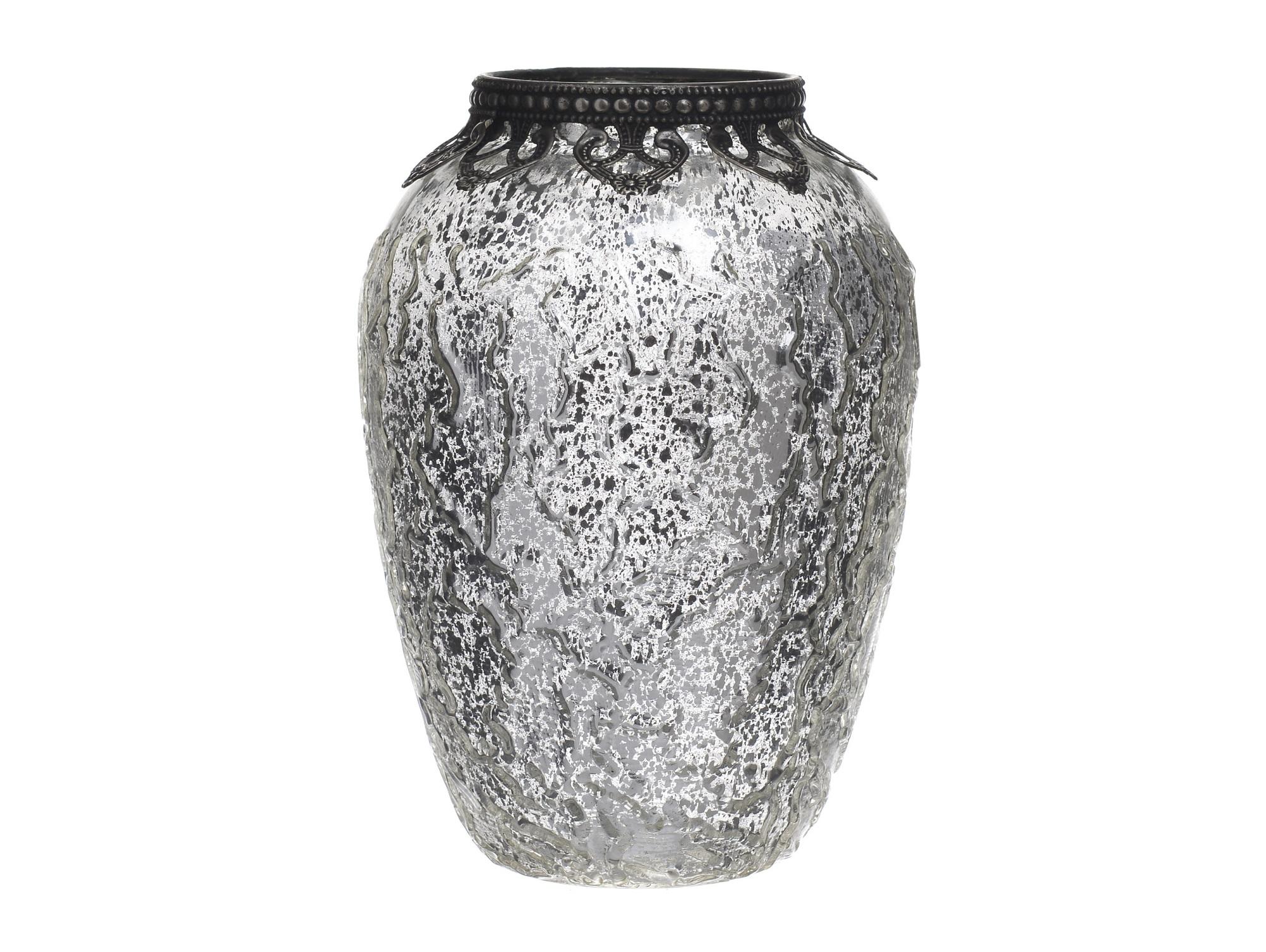 Ваза JaseВазы<br>Материал: стекло, металл<br><br>Material: Стекло<br>Высота см: 17.5