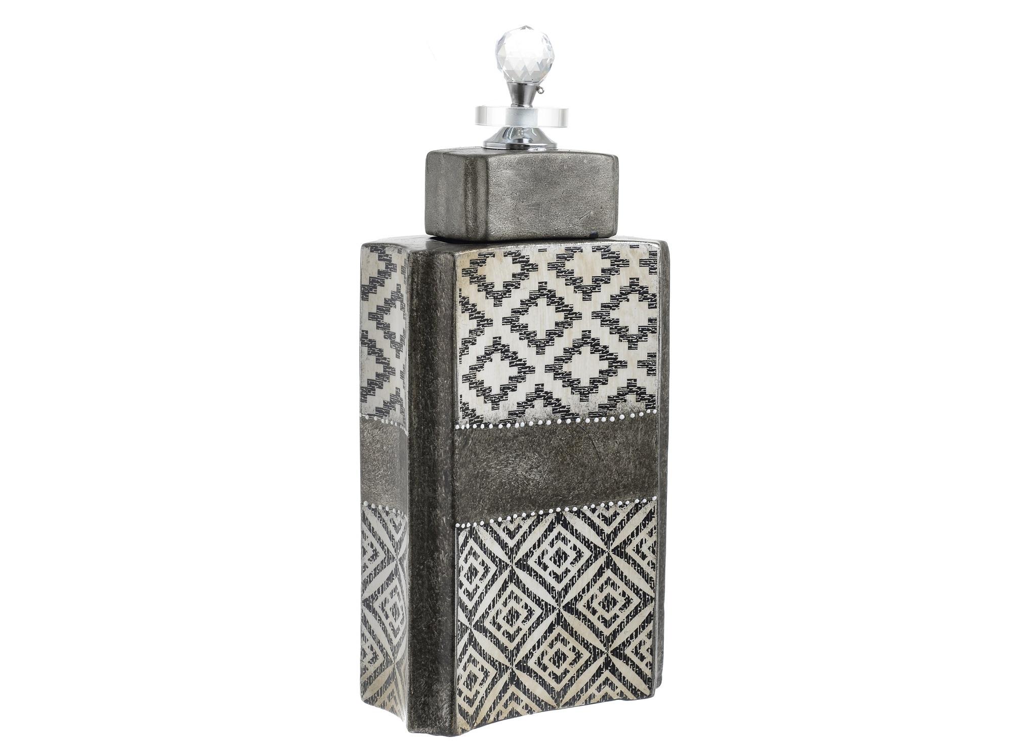 Ваза с крышкой KillianЕмкости для хранения<br><br><br>Material: Керамика<br>Ширина см: 16.0<br>Высота см: 29.0<br>Глубина см: 9.0