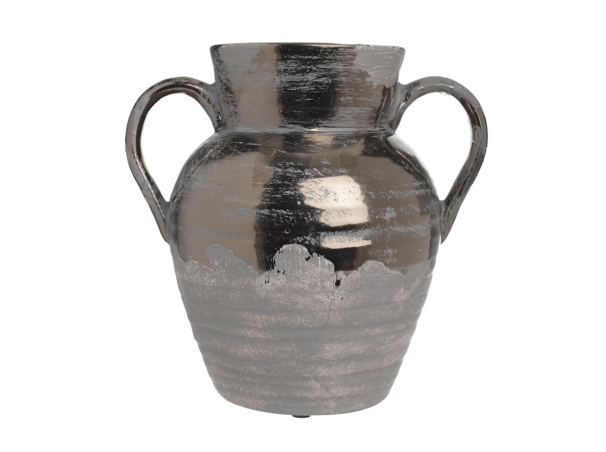 Ваза CohenВазы<br><br><br>Material: Керамика<br>Ширина см: 23.5<br>Высота см: 23.0<br>Глубина см: 17.5