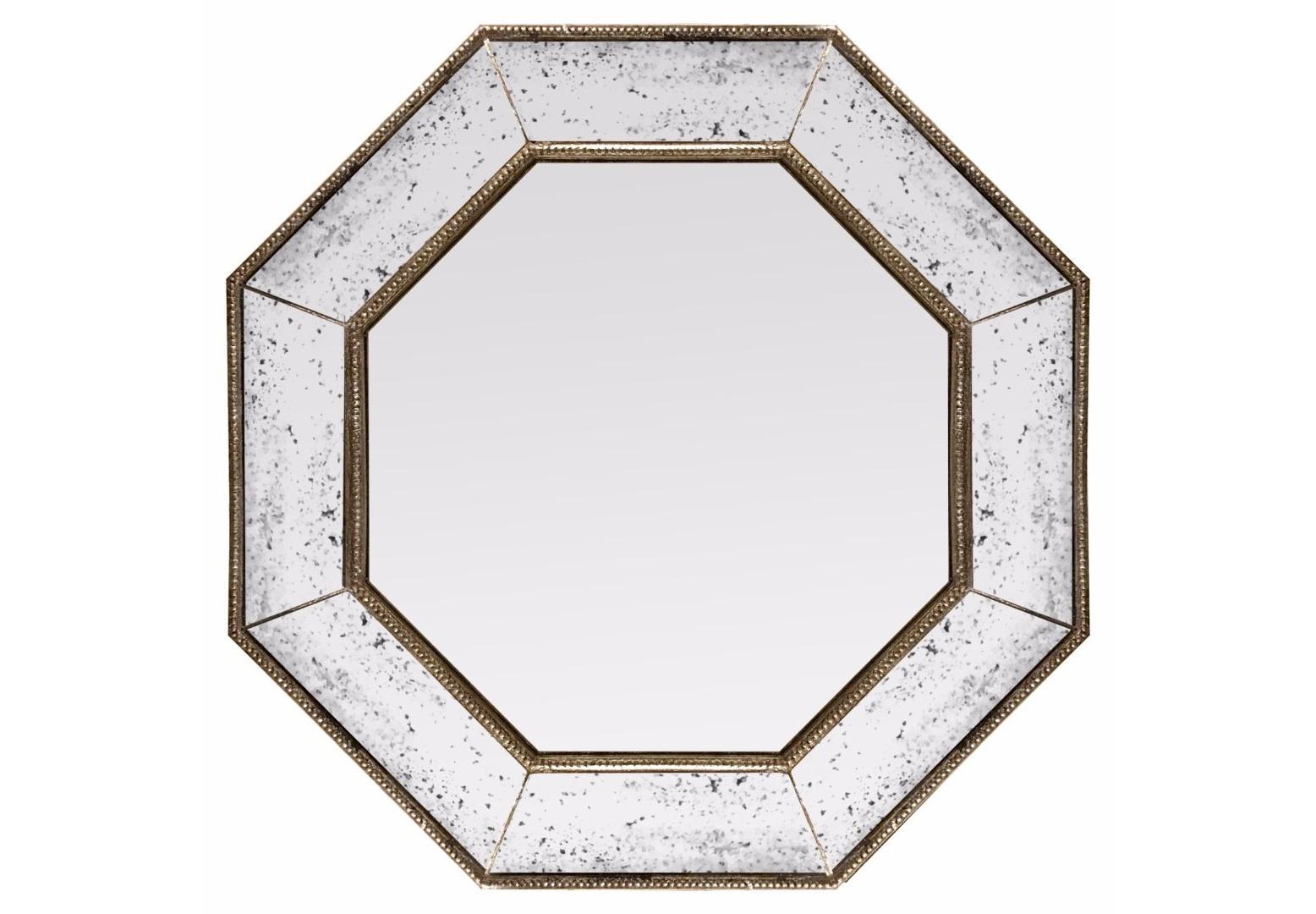 Зеркало angelique (bountyhome) бронзовый 65.0x65.0x5.0 см. фото