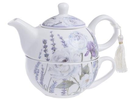 """Чайник с чашкой в подарочной упаковке """"Jeffrey"""""""