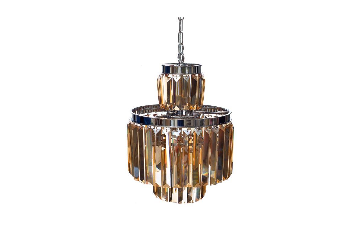 Светильник потолочныйПодвесные светильники<br>&amp;lt;div&amp;gt;Цоколь: E14&amp;lt;/div&amp;gt;&amp;lt;div&amp;gt;Мощность лампы: 40W&amp;lt;/div&amp;gt;&amp;lt;div&amp;gt;Количество ламп: 6&amp;lt;/div&amp;gt;&amp;lt;div&amp;gt;&amp;lt;br&amp;gt;&amp;lt;/div&amp;gt;&amp;lt;div&amp;gt;Материал: металл цвета хром, стекло цвета янтарь&amp;lt;/div&amp;gt;<br><br>Material: Стекло<br>Высота см: 54