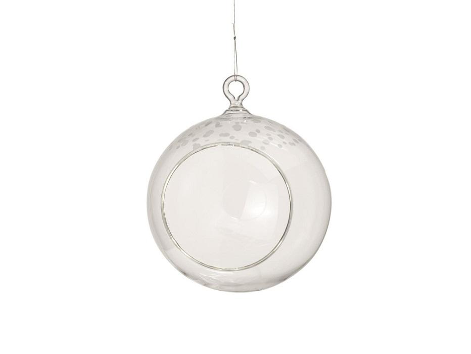 """Стеклянный шар """"Snow"""" от The Furnish"""