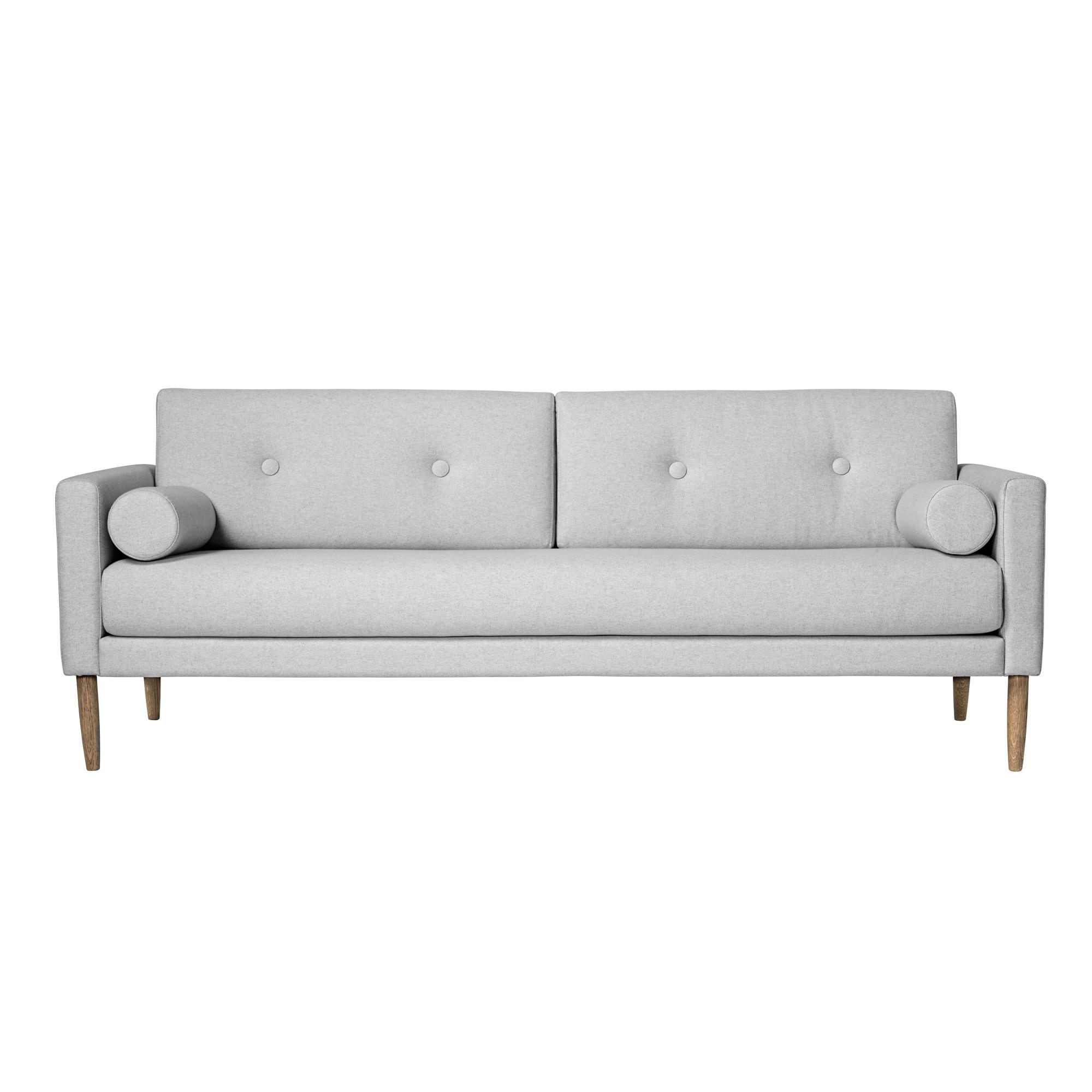 Диван CalmДвухместные диваны<br>Прямые линии и простая форма - выигрышный дизайн дивана CALM.<br><br>Material: Текстиль<br>Ширина см: 202<br>Высота см: 78<br>Глубина см: 82