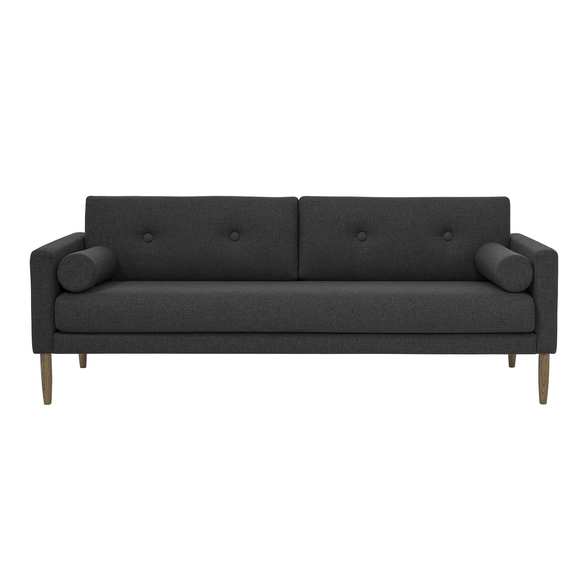 Диван CalmДвухместные диваны<br>Прямые линии и простая форма - выигрышный дизайн дивана CALM.<br><br>Material: Текстиль<br>Ширина см: 202.0<br>Высота см: 78.0<br>Глубина см: 82.0