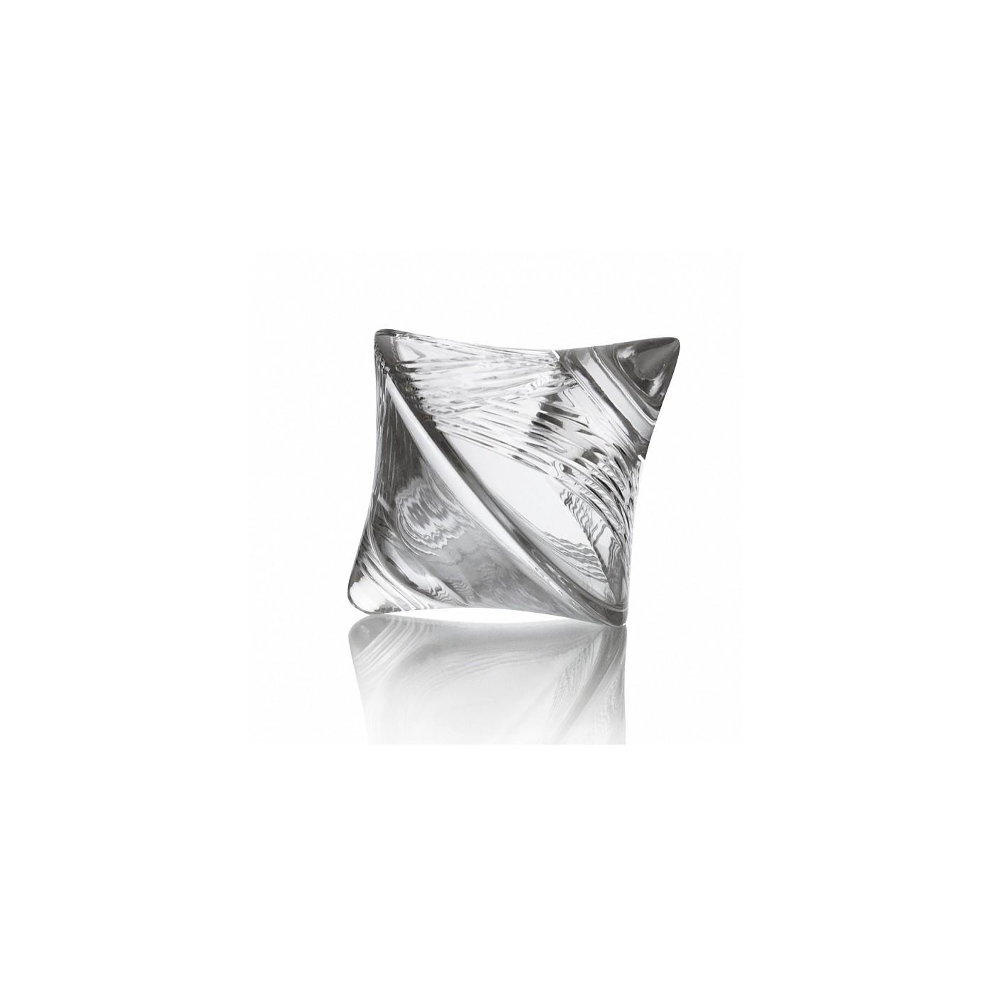 Хрустальная сахарница Юла №3Сахарницы<br>Объем: 600 мл<br><br>Material: Хрусталь<br>Высота см: 19.3