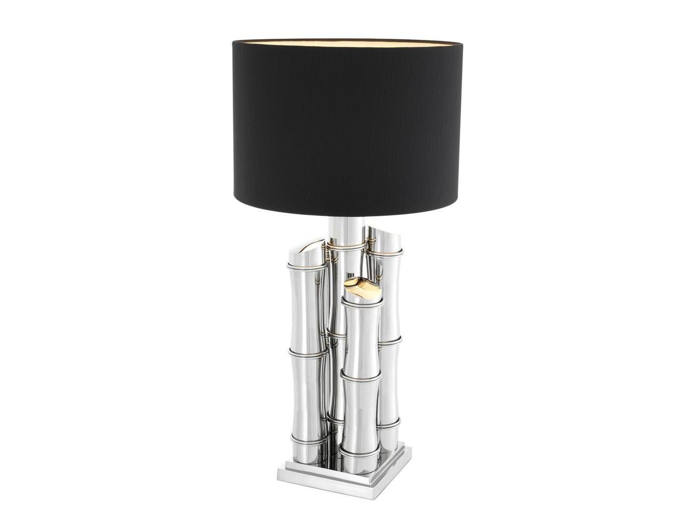 Настольная лампа DamianДекоративные лампы<br><br><br>Material: Текстиль<br>Ширина см: 45.0<br>Высота см: 91<br>Глубина см: 45.0