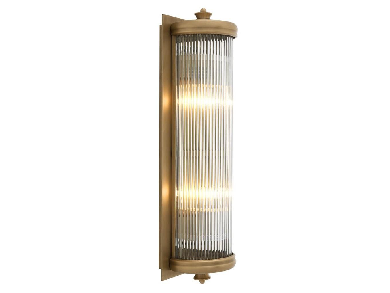 Настенный светильник Glorious LБра<br>Материал: стекло, металл&amp;lt;div&amp;gt;&amp;lt;br&amp;gt;&amp;lt;/div&amp;gt;&amp;lt;div&amp;gt;&amp;lt;div&amp;gt;Вид цоколя: E27&amp;lt;/div&amp;gt;&amp;lt;div&amp;gt;Мощность:&amp;amp;nbsp; 40W&amp;lt;/div&amp;gt;&amp;lt;div&amp;gt;Количество ламп: 2 (нет в комплекте)&amp;lt;/div&amp;gt;&amp;lt;/div&amp;gt;<br><br>Material: Стекло<br>Ширина см: 11.0<br>Высота см: 43.0<br>Глубина см: 13.0