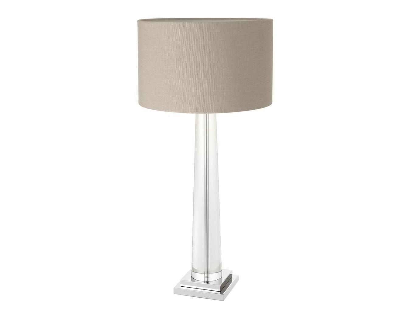 Настольная лампа OasisДекоративные лампы<br>Материал: стекло, металл, текстиль&amp;lt;div&amp;gt;&amp;lt;div&amp;gt;Вид цоколя: E27&amp;lt;/div&amp;gt;&amp;lt;div&amp;gt;Мощность:&amp;amp;nbsp; 60W&amp;lt;/div&amp;gt;&amp;lt;div&amp;gt;Количество ламп: 1 (нет в комплекте)&amp;lt;/div&amp;gt;&amp;lt;/div&amp;gt;<br><br>Material: Текстиль<br>Ширина см: 48.0<br>Высота см: 103.0<br>Глубина см: 48.0