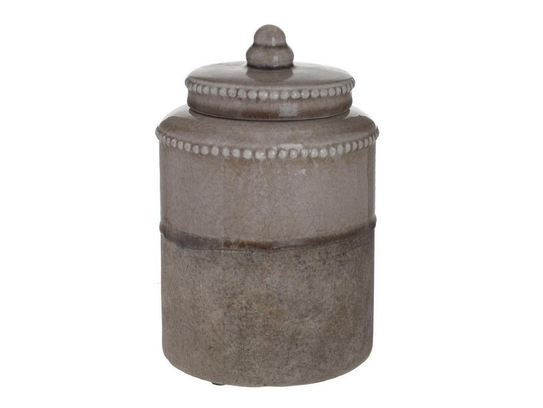 Банка с крышкой AlaricoВазы<br><br><br>Material: Керамика<br>Высота см: 26.0