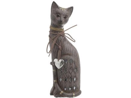 Статуэтка кошка adolpho (to4rooms) коричневый 10.0x28.5x7.5 см.