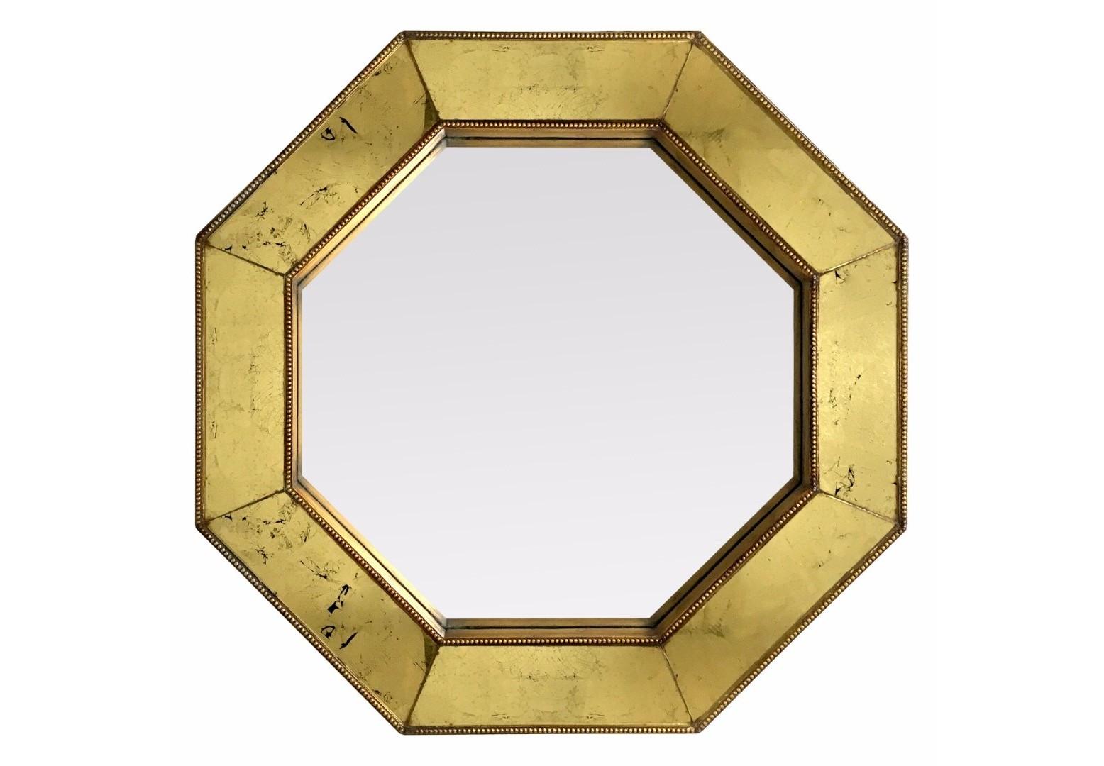 Зеркало JeanНастенные зеркала<br>В наших коллекциях много зеркал выпуклой и вогнутой формы. Это же изделие плоское при виде сбоку. Поталевые зеркала - личная разработка наших мастеров, стильный декор в виде шариков по внутреннему и внешнему кантам рамы, массив дерева и изящная форма - все это делает зеркало неповторимым и по-настоящему особенным. Создано с любовью!&amp;nbsp;Возможно изготовление по Вашим цветам и размерам.Материал: массив дерева, поталевые зеркала, классическое зеркало.<br><br>kit: None<br>gender: None