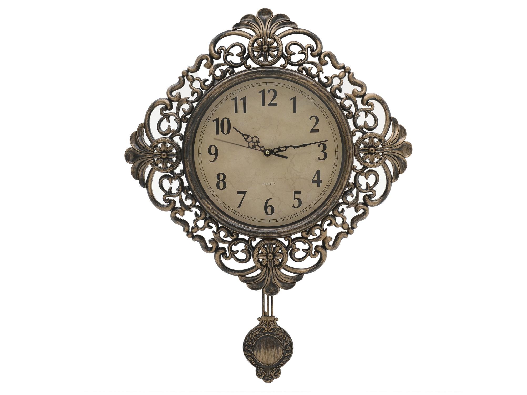 Часы настенные с маятником AurelioНастенные часы<br>Кварцевый механизм<br><br>kit: None<br>gender: None