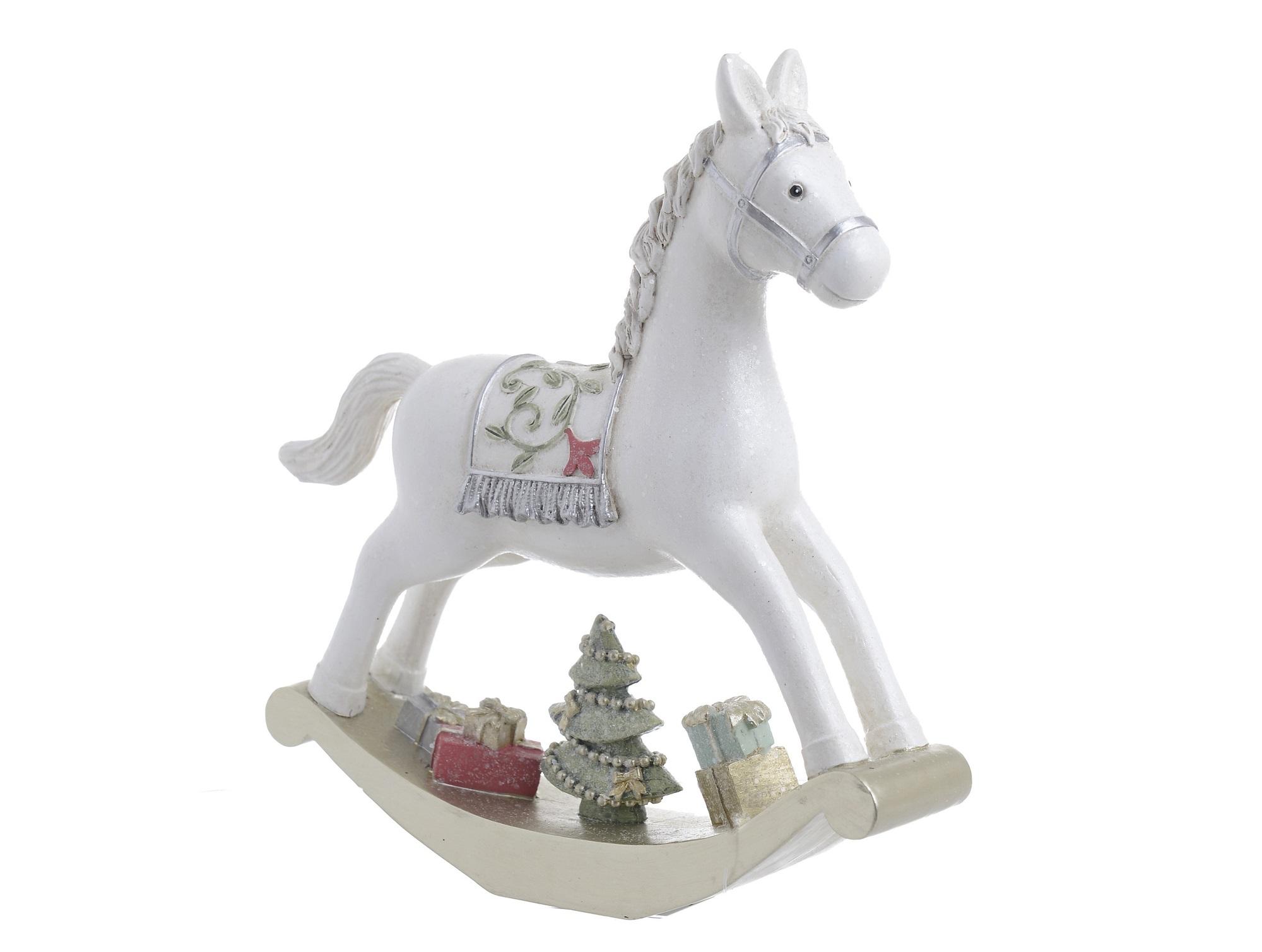 Статуэтка лошадка новогодняя