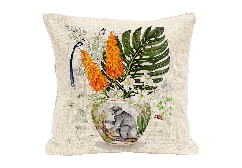 Интерьерная подушка Интересующаяся всемКвадратные подушки и наволочки<br>Мягкая натуральная ткань, воздушный наполнитель, пышный цветочный натюрморт, - подушка &amp;quot;Интересующаяся всем&amp;quot; откликается на любые условия эргономичного отдыха. Органичным «обрамлением» цветочной темы представляются великолепные цветочные вазы делфтской керамики. Подушка изготовлена из смеси льна и хлопка. Высокая плотность ткани обеспечит не только дополнительную мягкость, но и максимальную долговечность аксессуара.&amp;lt;div&amp;gt;&amp;lt;br&amp;gt;&amp;lt;/div&amp;gt;&amp;lt;div&amp;gt;&amp;lt;div style=&amp;quot;font-size: 14px;&amp;quot;&amp;gt;Материал: лен, хлопок.&amp;lt;/div&amp;gt;&amp;lt;div style=&amp;quot;font-size: 14px;&amp;quot;&amp;gt;&amp;lt;br&amp;gt;&amp;lt;/div&amp;gt;&amp;lt;/div&amp;gt;<br><br>Material: Лен<br>Ширина см: 45.0<br>Высота см: 45.0