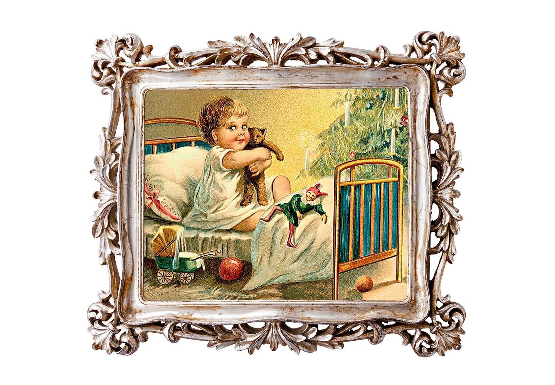 Картина С Новым годом!Новогодний декор<br>Картинная рама, стилизованная пышным рельефом &amp;quot;барокко&amp;quot;, адресована интерьерам в стиле французского и английского классицизма. Особый комплимент - любителям изнеженного салонного &amp;quot;ар-деко&amp;quot;. Классические детали интерьера обладают стойкой харизмой респектабельности и благородства. Трогательный рождественский сюжет добавит этой гармонии желанную долю обаяния и уюта.&amp;lt;div&amp;gt;&amp;lt;br&amp;gt;&amp;lt;/div&amp;gt;&amp;lt;div&amp;gt;Материал: рама - полистоун, защитное стекло, оборотная сторона - бархатный полиэстер.&amp;lt;br&amp;gt;&amp;lt;/div&amp;gt;<br><br>Material: Полистоун<br>Ширина см: 30.0<br>Высота см: 35.0<br>Глубина см: 2