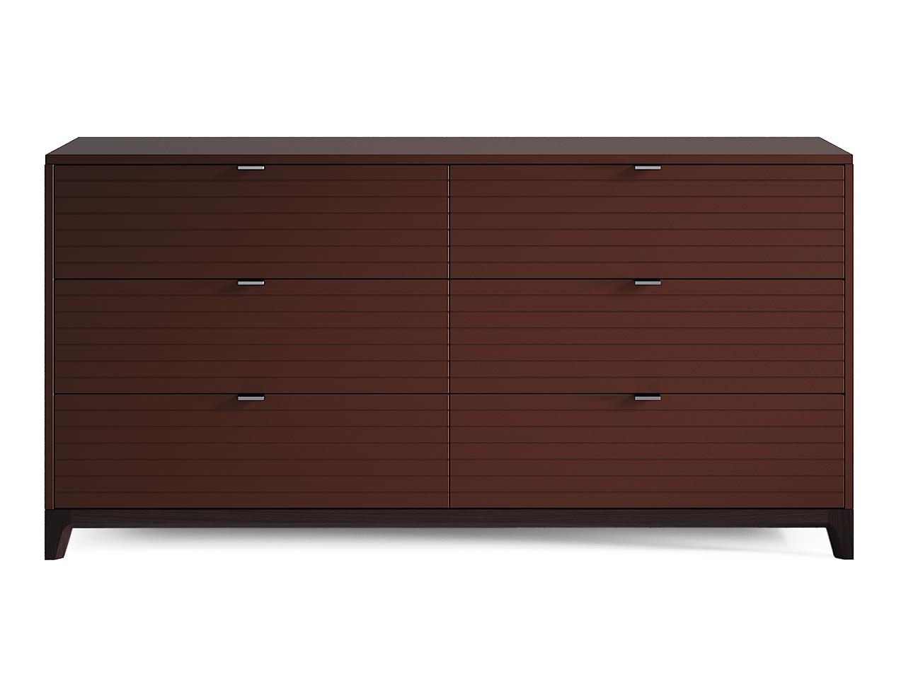 Комод Case №3Бельевые комоды<br>Комод CASE #3 с шестью выдвижными ящиками отлично подойдет для организации хранения вещей в спальне, но также может быть использован в гостиной и других помещениях. У комода увеличенная глубина 450 мм, дно ящиков выполнено из ДСП 16 мм, обладающего высоким запасом прочности.&amp;lt;div&amp;gt;&amp;lt;br&amp;gt;&amp;lt;/div&amp;gt;&amp;lt;div&amp;gt;&amp;lt;div&amp;gt;Цвет: МДФ, дуб венге, шоколад, фрезеровка 6.&amp;lt;/div&amp;gt;&amp;lt;div&amp;gt;Материал: Массив дуба, МДФ, ДСП, эмаль, лак.&amp;lt;/div&amp;gt;&amp;lt;/div&amp;gt;<br><br>Material: Дуб<br>Ширина см: 160<br>Высота см: 80<br>Глубина см: 45