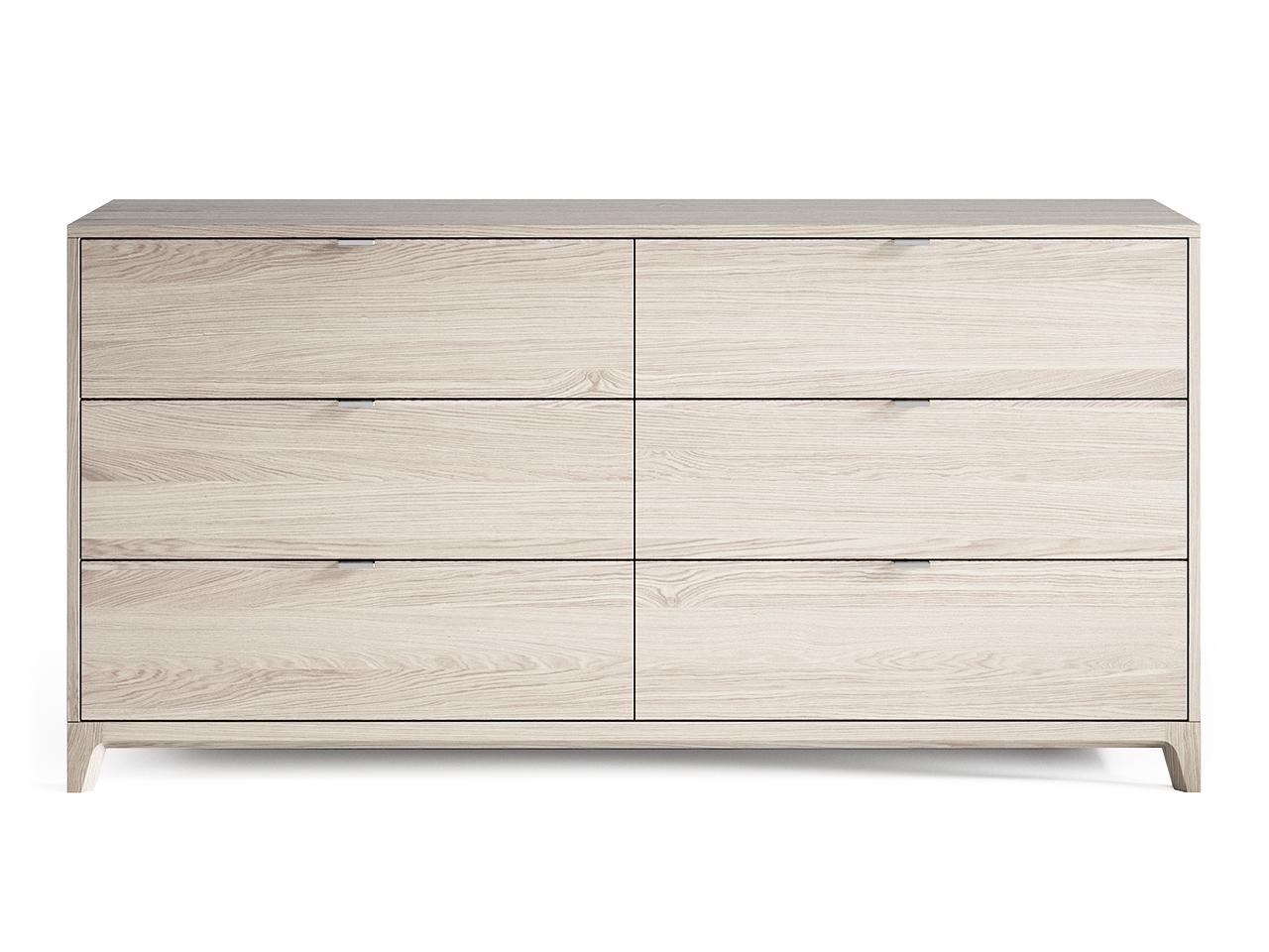 Комод CASE №3 (Беленый дуб)Бельевые комоды<br>&amp;lt;div&amp;gt;&amp;lt;div&amp;gt;Комод CASE #3 с шестью выдвижными ящиками отлично подойдет для организации хранения вещей в спальне, но также может быть использован в гостиной и других помещениях. У комода увеличенная глубина 450 мм, дно ящиков выполнено из ДСП 16 мм, обладающего высоким запасом прочности.&amp;lt;/div&amp;gt;&amp;lt;/div&amp;gt;&amp;lt;div&amp;gt;&amp;lt;br&amp;gt;&amp;lt;/div&amp;gt;&amp;lt;div&amp;gt;&amp;lt;div&amp;gt;Цвет: Беленый дуб.&amp;lt;/div&amp;gt;&amp;lt;div&amp;gt;Материал: Массив дуба, натуральный шпон дуба, МДФ, ДСП, лак.&amp;lt;/div&amp;gt;&amp;lt;/div&amp;gt;<br><br>Material: МДФ<br>Ширина см: 160<br>Высота см: 80<br>Глубина см: 45